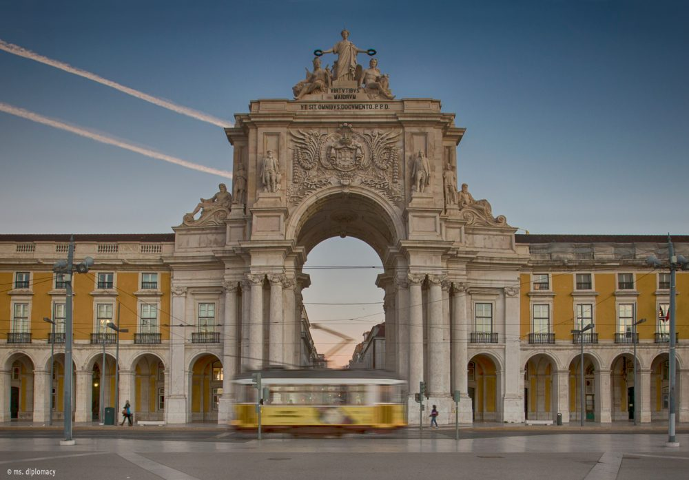 Lisbon top picks Arco Rua Augusta