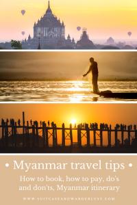 Myanmar travel tips