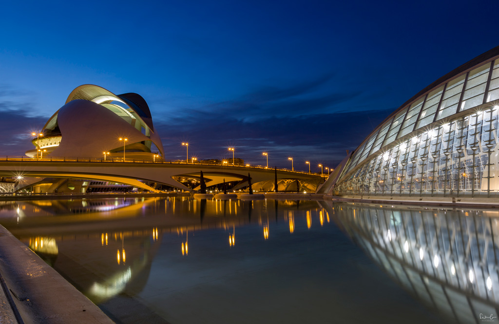 Valencia The city of arts and sciences
