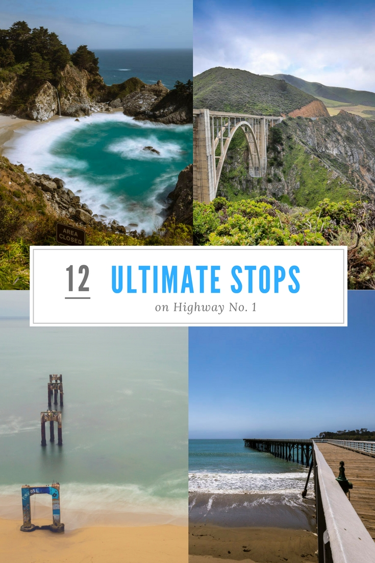 12 ultimate stops on highway 1