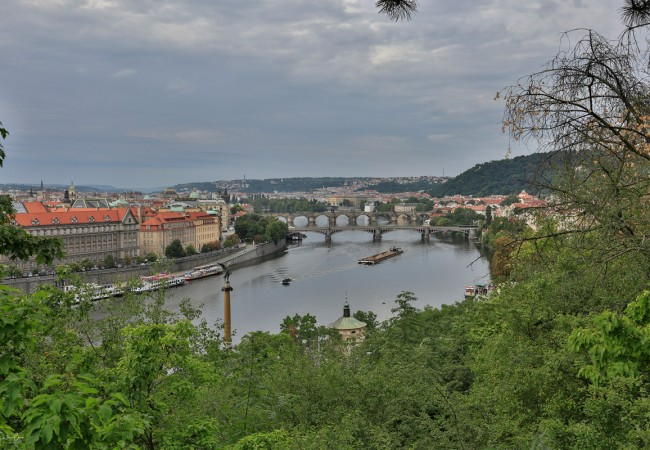 On and off the beaten tracks of Prague