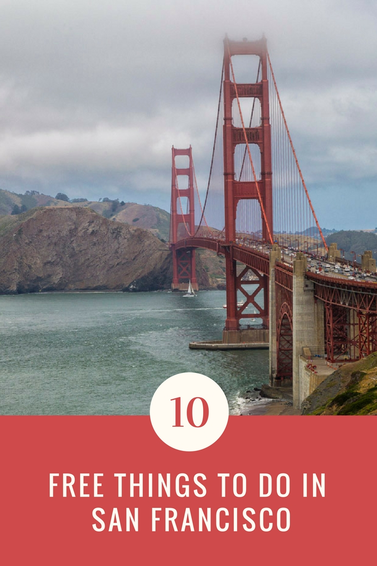 10 Free things to do in San Francisco
