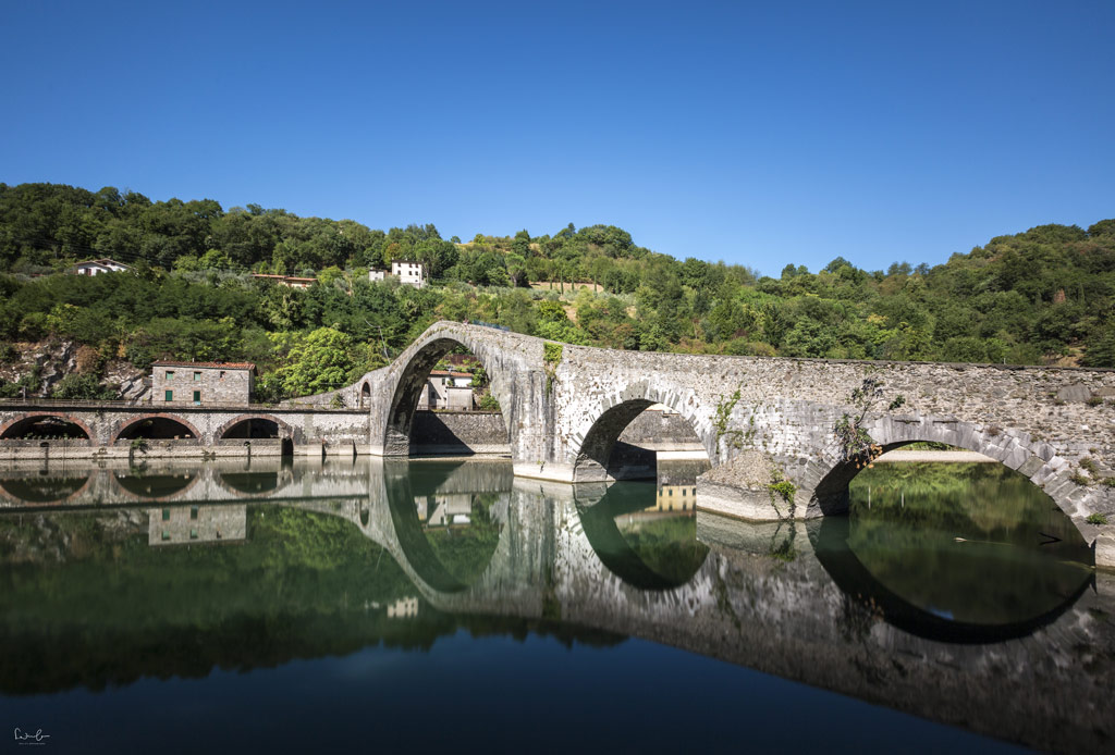Lucca Maddalena bridge