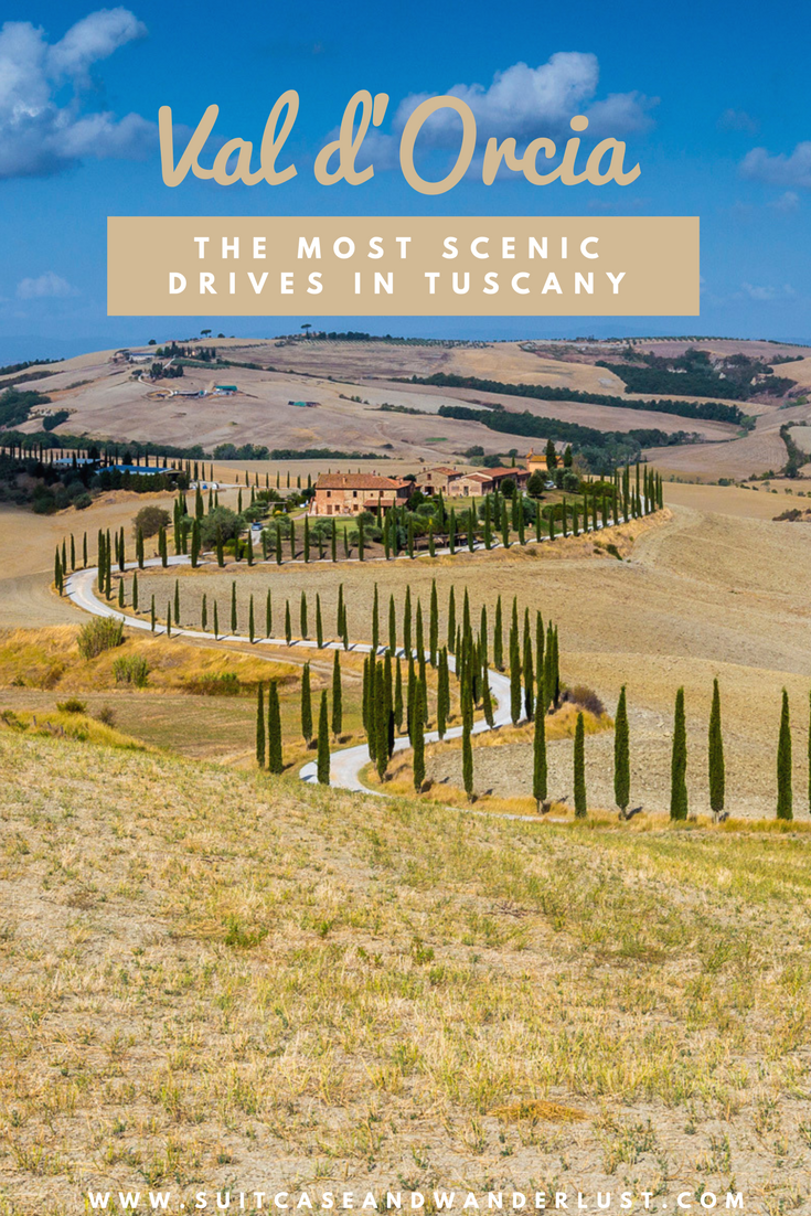 The most scenic drives in Tuscany