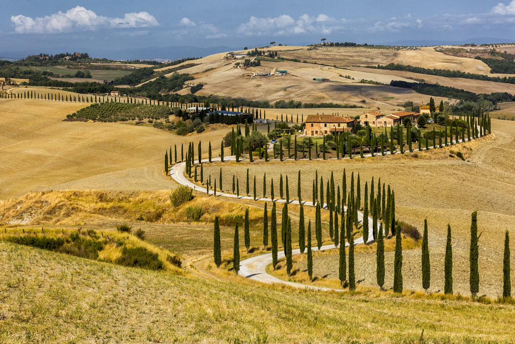 Scenic drive Tuscany - Baccoleno