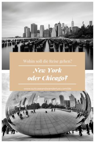 Chicago oder New York?