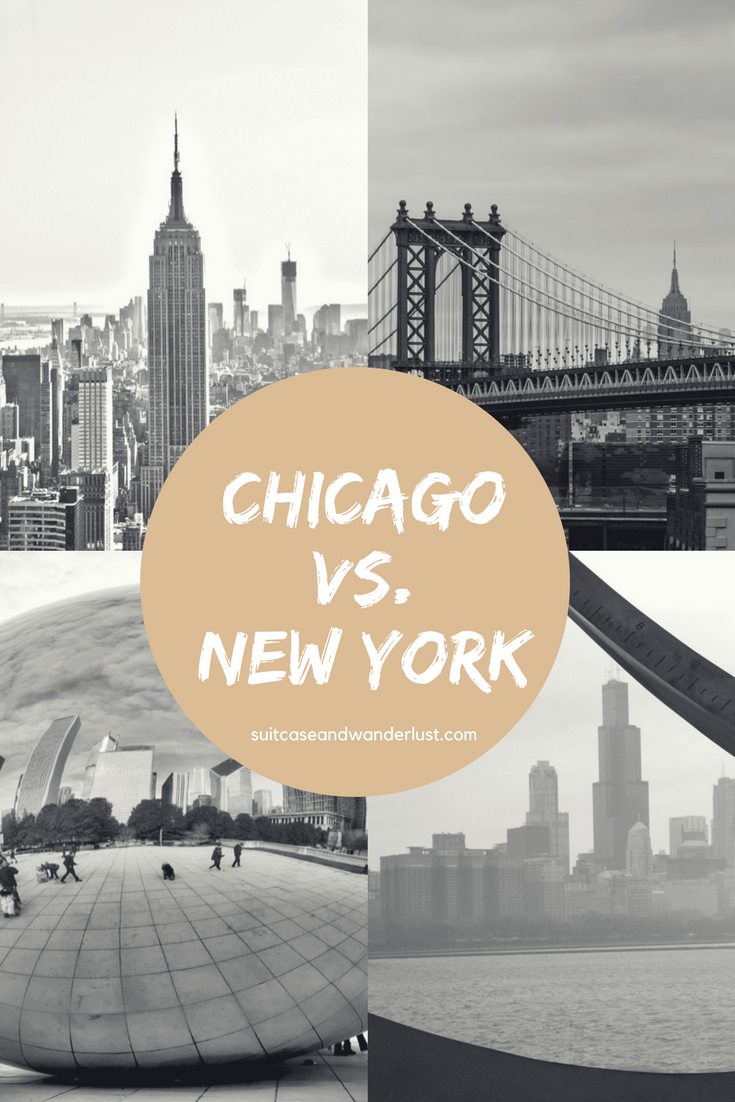 Chicago vs. New York