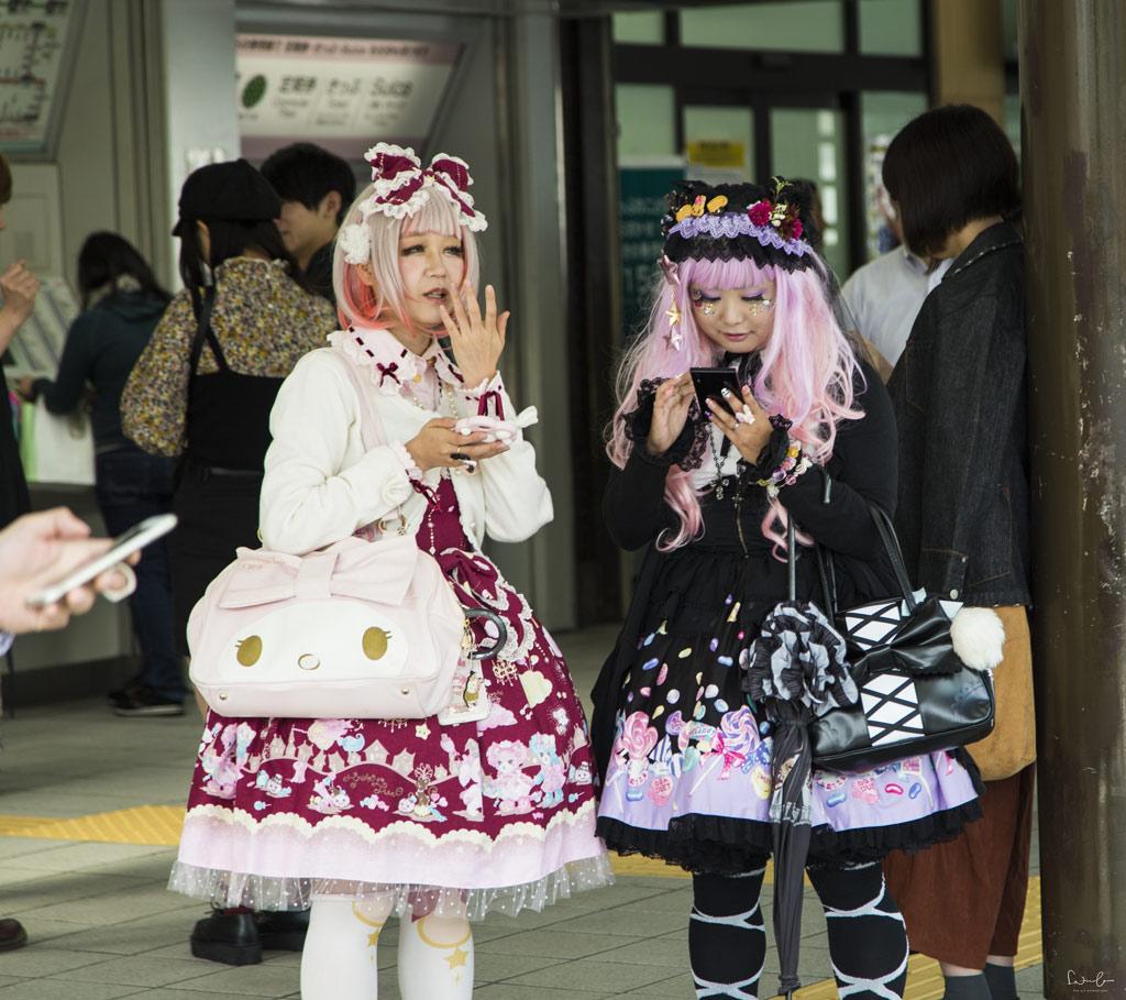 Harajuku Tokyo subculture