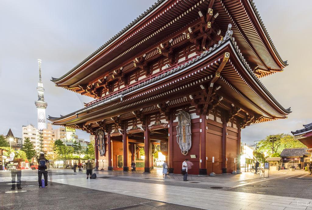 Senso-ji temple Tokyo