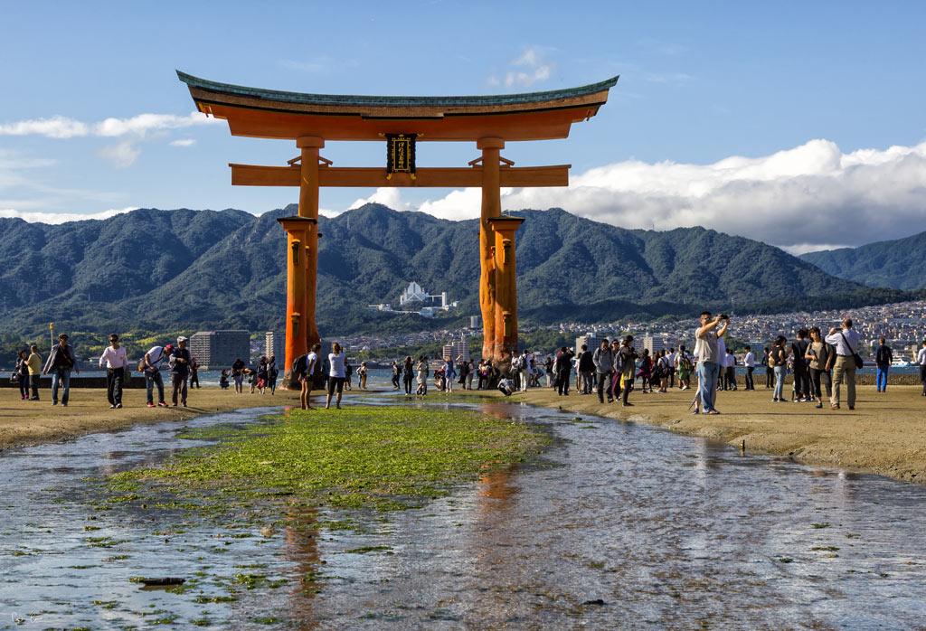 Japan Miyajima Torii gate