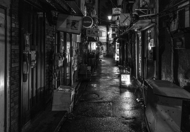 Japan: black and white photography