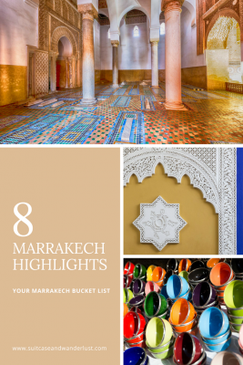 Marrakech bucket list