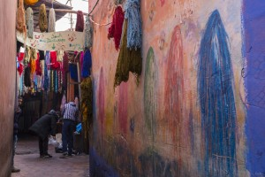 Souks Marrakech Teinturiers