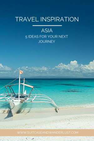 Travel inspiration Asia