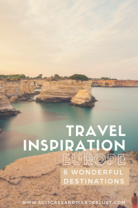 Travel inspiration Europe