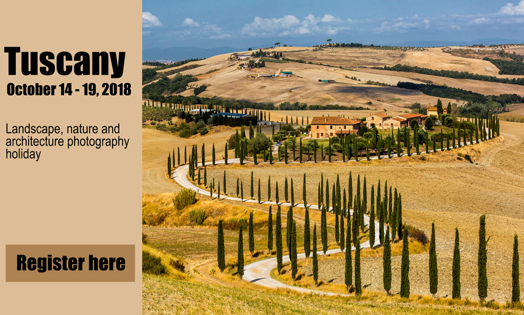 photography holiday Tuscany