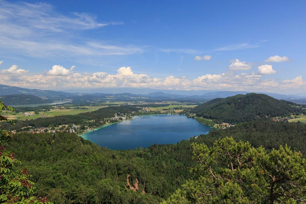 Klopeiner See Aussicht