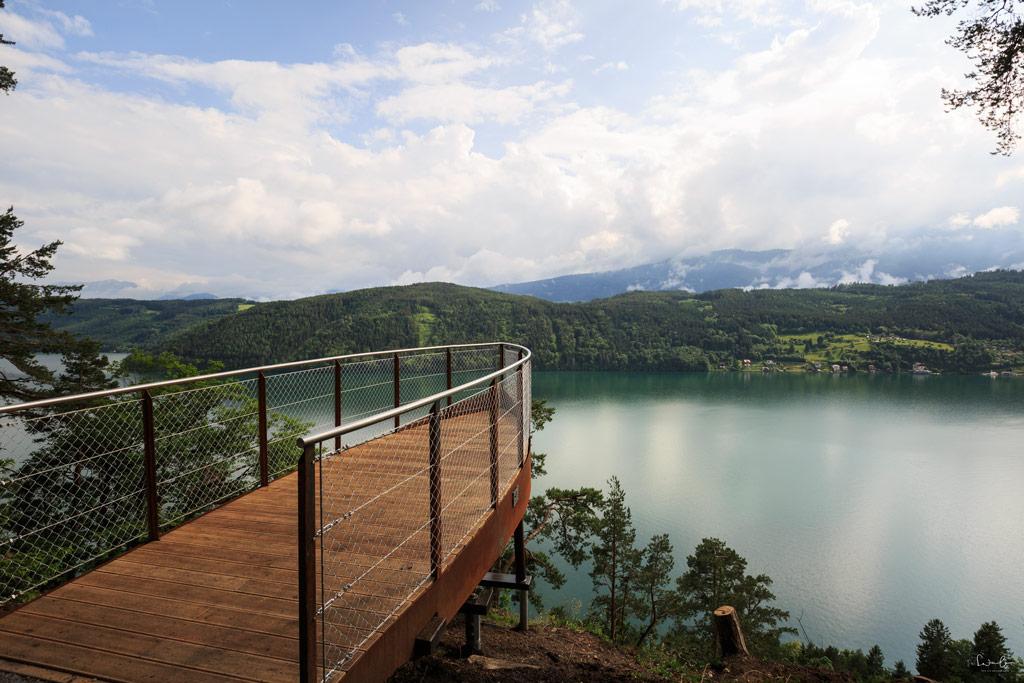Millstaetter See Aussicht
