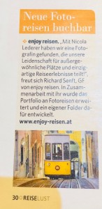 Presseclipping Reise Aktuell