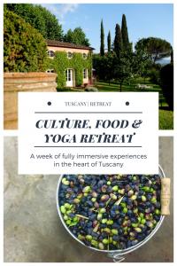yoga retreat Italy Tuscany