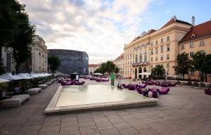 Vienna Summerlocation Museumsquartier