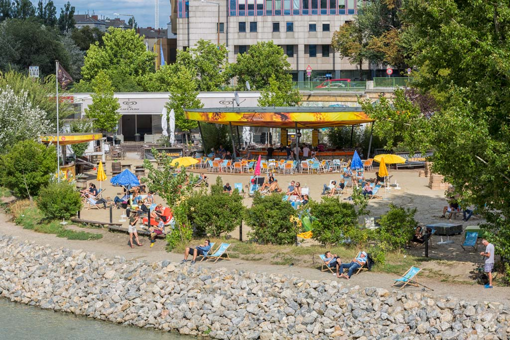 Vienna things to do in Summer Herrmann beachbar