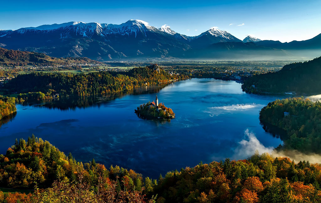 Fall destination Slovenia