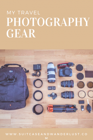 travel photography gear