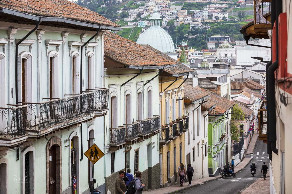 one day in Quito