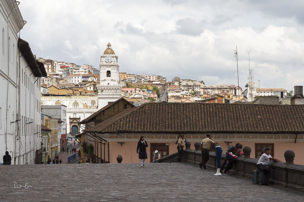 colonial buildings - one day in Quito