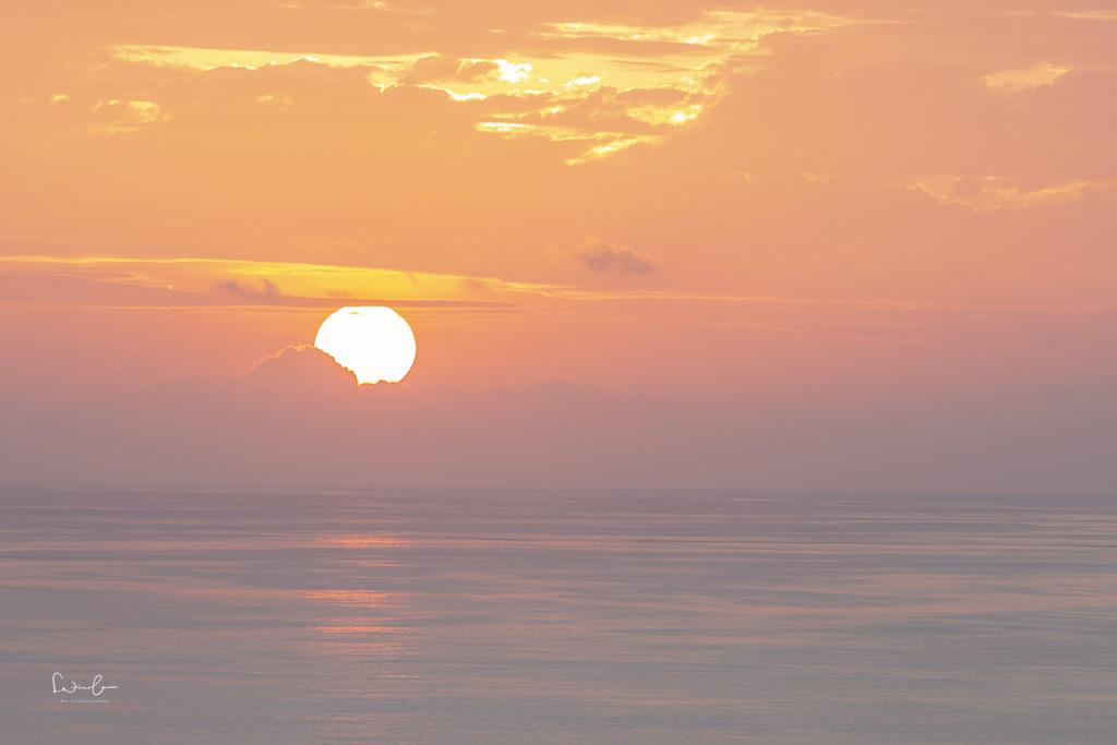 Cerro Tijeretas sunset