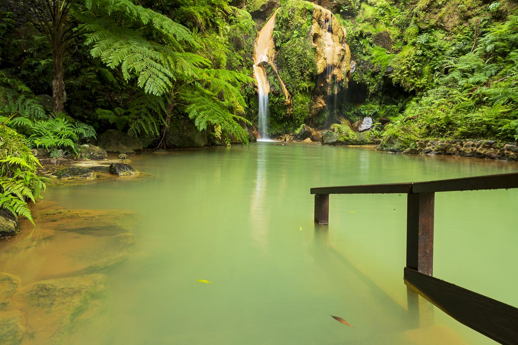 Thermal pool of Ribeira Grande-