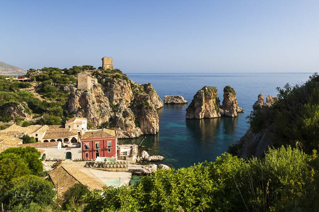Sicily itinerary Scopello