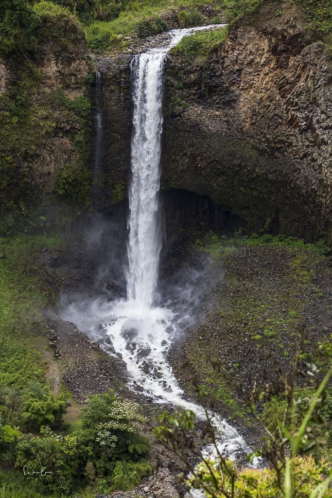 Wasserfall statisch