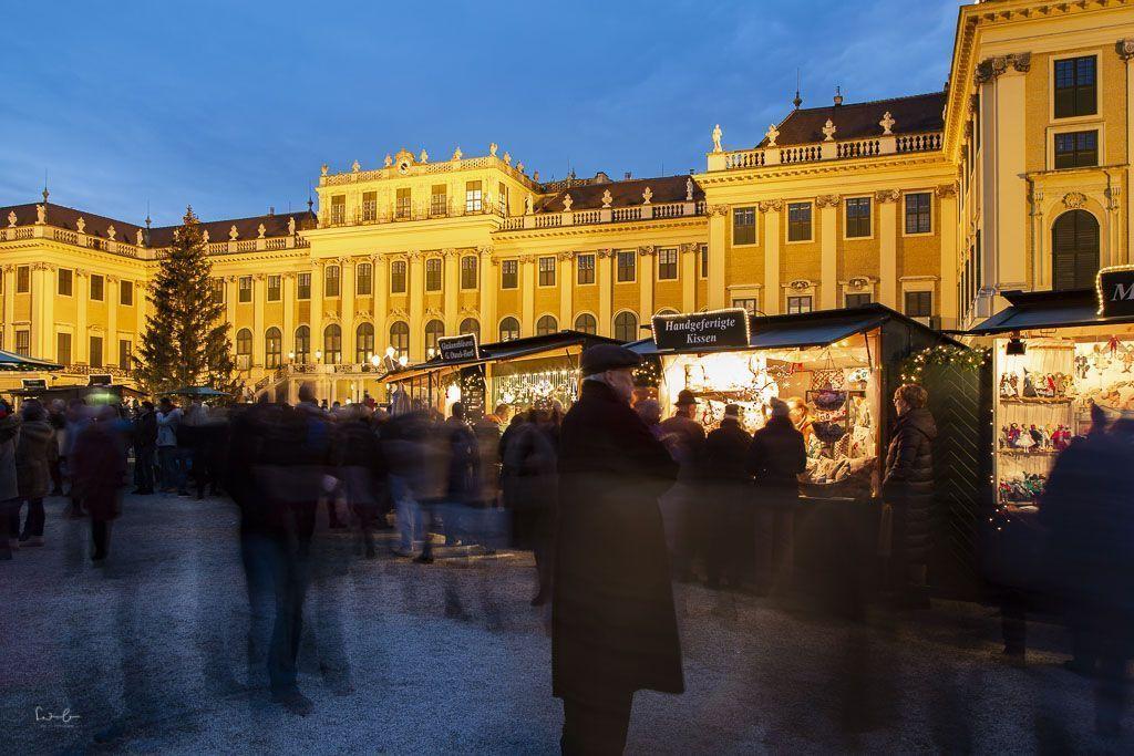 Christmas market Vienna Schönbrunn