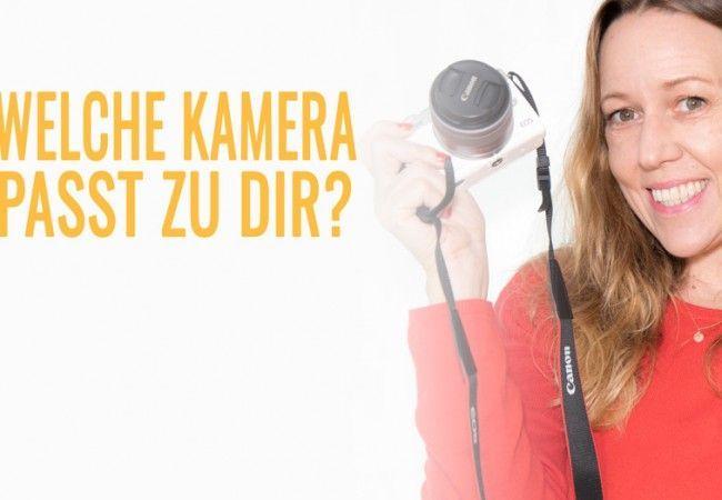 Kamera Kaufberatung: Welche Kamera passt zu mir?